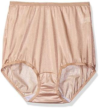 Shadowline Women's Panties-Nylon Brief (3 Pack)