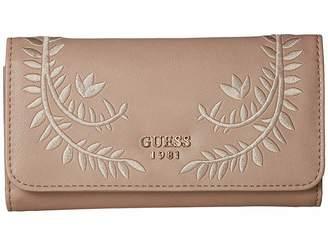 GUESS Nessa SLG Slim Clutch Clutch Handbags
