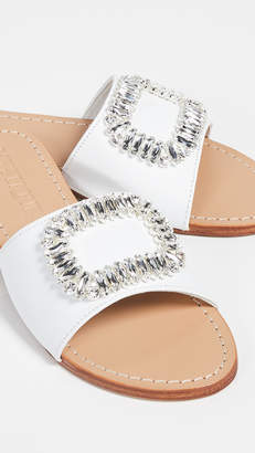 Mystique Jewel Buckle Slides