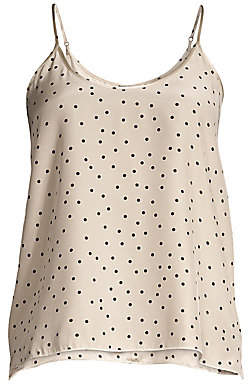 ATM Anthony Thomas Melillo Women's Silk Polka Dot Cami