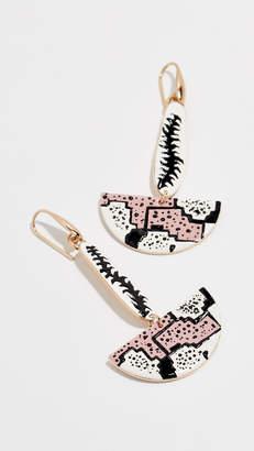 Isabel Marant Ma Vallee Fan Earrings
