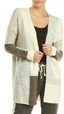 Dex Colourblock Textured Cardigan