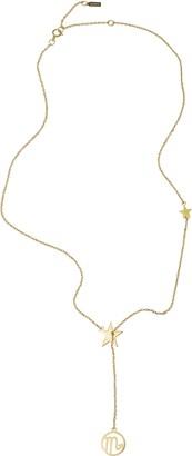 ADORNIA Scorpio Zodiac Lariat Necklace