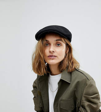 Reclaimed Vintage Inspired Wool Mix Flat Cap
