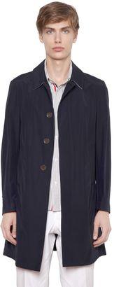 Cotton Blend Poplin Overcoat $1,900 thestylecure.com