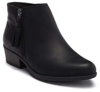 Clarks Addiy Terri Leather Ankle Bootie - Wide Width Available
