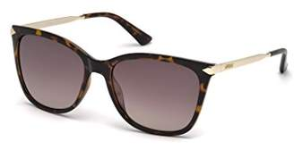 GUESS Women's Gu7483 Cateye Sunglasses