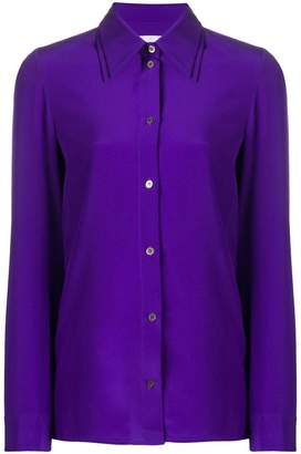 Victoria Beckham Victoria long-sleeve fitted shirt