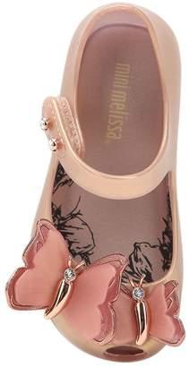 Mini Melissa Butterfly Rubber Ballerina Flats