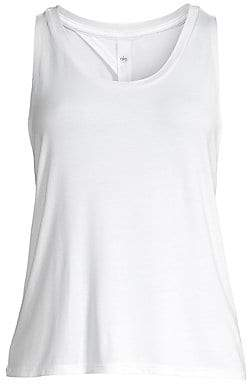 Alo Yoga Women's Central Keyhole Back Tank