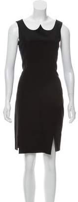 Christian Siriano Sleeveless Knee-Length Dress