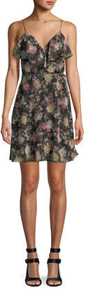 Bailey 44 Object of Desire V-Neck Floral-Print Dress