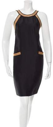 Martin Grant Silk Colorblock Dress