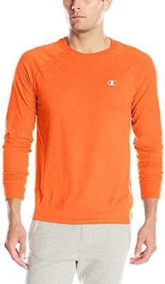 Champion Men's Double Dry Cotton Long-Sleeve T-Shirt