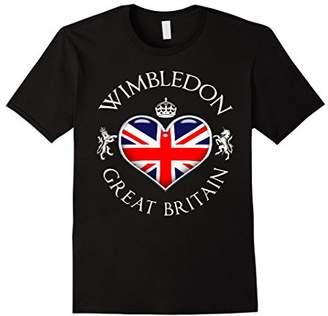 Wimbledon UK Love Heart Funny T-Shirt