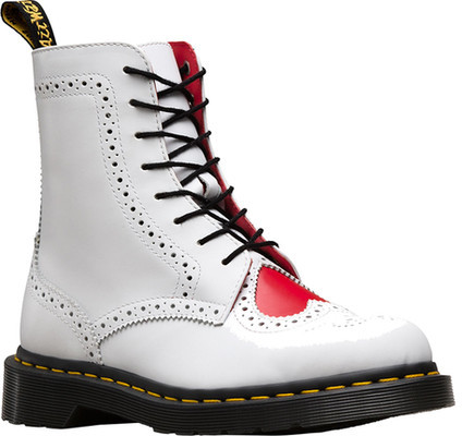 Dr. Martens Women's Dr. Martens Bentley II Heart Brogue 8-Eye Boot