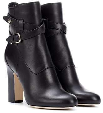 Jimmy Choo Mitchell 100 leather ankle boots