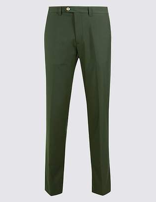 Marks and Spencer Slim Fit Flat Front Golf Chinos