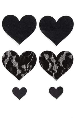Bristols Six Heart Nipple Covers