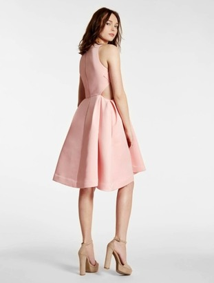 Satin Faille Dress With Cut Outs $475 thestylecure.com