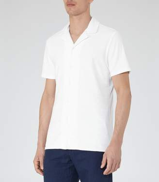 Reiss Turin Terry Towelling Shirt