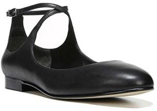 Women's Via Spiga Yovela Ankle Strap Flat $185 thestylecure.com