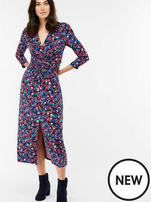 Monsoon Betty Print Midi Dress