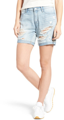 Articles of Society Nadine Ripped Boyfriend Shorts (Idlewild) $54 thestylecure.com