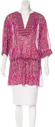 Tory Burch Silk Tunic Top