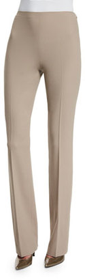 Ralph Lauren Collection Sandra Side-Zip Flare Pants, Taupe $750 thestylecure.com