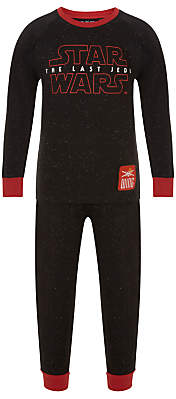 Children's Long Pyjamas, Black
