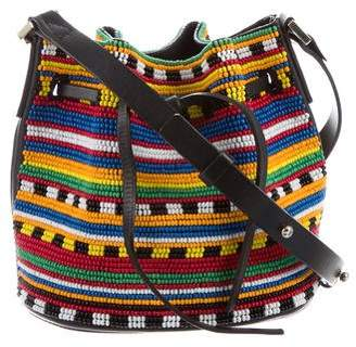 Le Petit Trou Beaded Bucket Bag