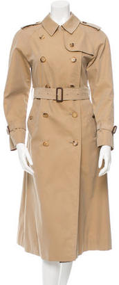 Burberry Double-Breasted Trench Coat $475 thestylecure.com