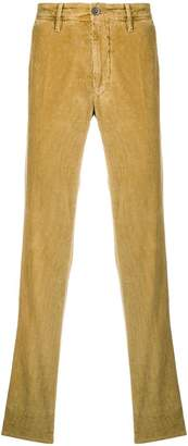 Incotex corduroy chino trousers