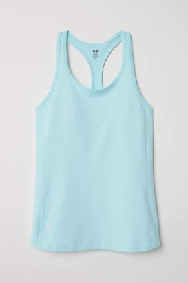 H&M Sports Tank Top - Turquoise