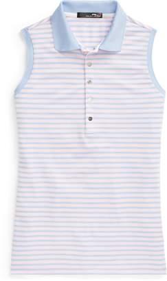 Ralph Lauren Striped Sleeveless Polo Shirt