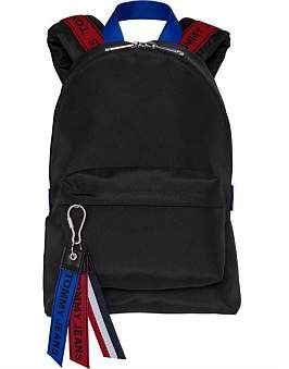 Tommy Hilfiger Tj Logo Tape Mini Backpack