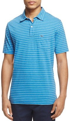 Vineyard Vines Federer Stripe Classic Fit Polo Shirt $75 thestylecure.com