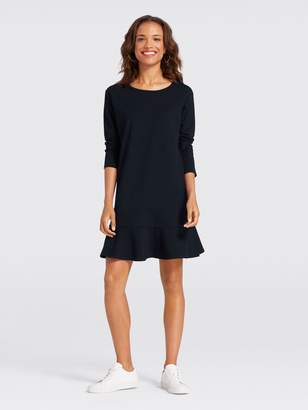 Draper James Solid Tulip Long Sleeve Dress