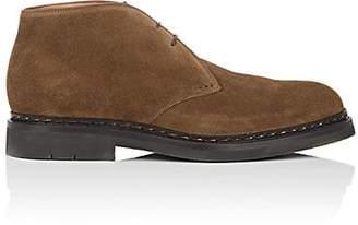 Heschung Men's Genet Suede Chukka Boots - Rust