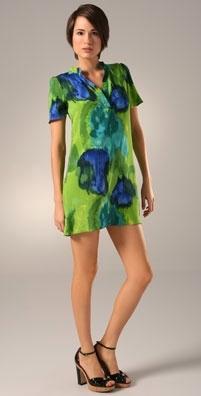 AKA New York Short Sleeve Henley Dress