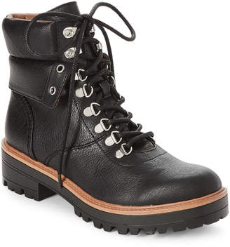 Indigo Rd Black Irisaya Hiker Boots