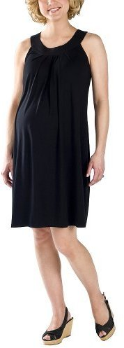 Liz Lange® for Target® Lawn Neckline Jersey Dress - Black