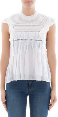 Etoile Isabel Marant White Cotton Undershirt
