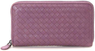 Bottega Veneta Intrecciato Nappa Zip-Around Wallet - Vintage