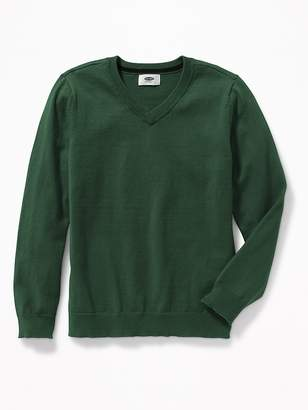 Old Navy Uniform V-Neck Sweater for Boys