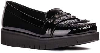 Geox Blenda Studded Kiltie Loafer