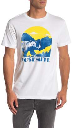 Body Rags Short Sleeve Yosemite National Park Bear Tee