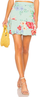 Privacy Please Bayberry Mini Skirt