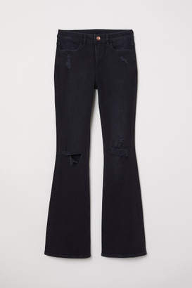 H&M Flare High Jeans - Gray